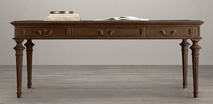 French Partner Collection Brown Oak Drifted
