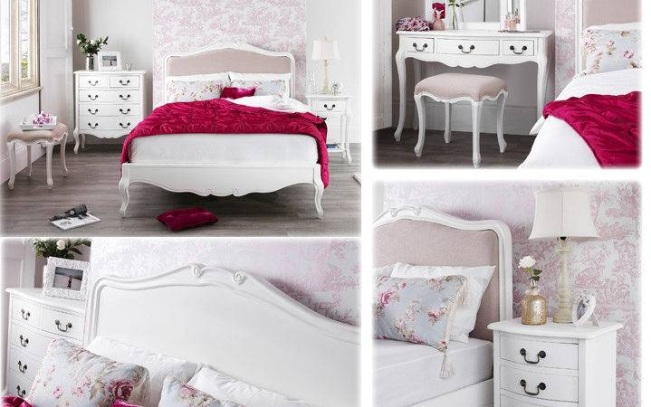 French Shabby Chic Bedroom Furniture Set Italia