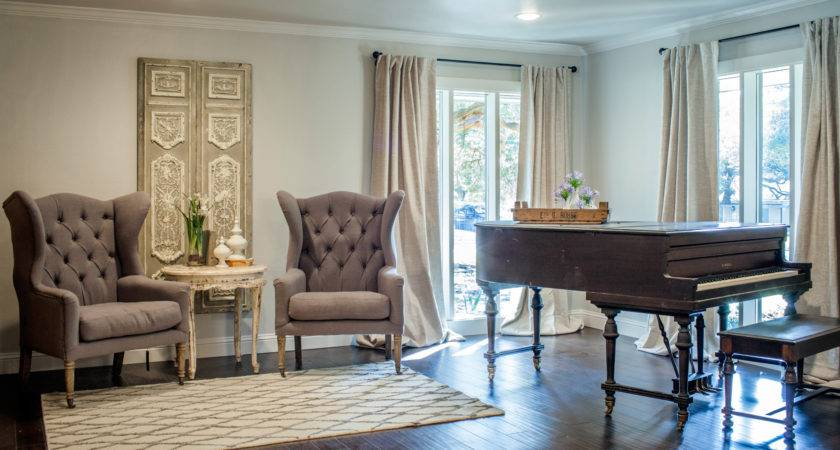 French Style Living Room Interior Decor