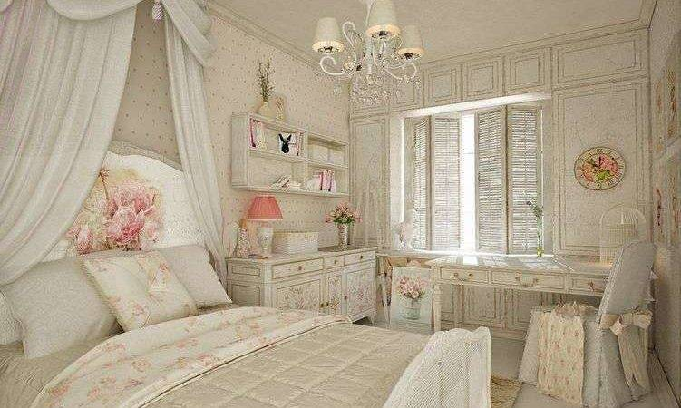 French Style Shabby Chic Bedroom Furniture Set Medium