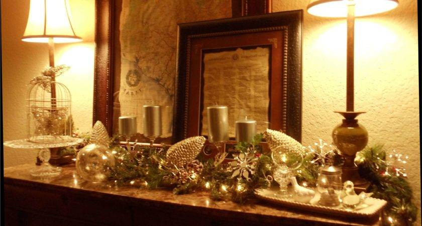 Fresh Dining Rooms Decorated Christmas