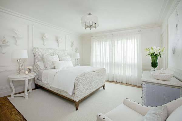 Fresh White Bedroom Decorating Ideas Speedchicblog