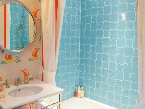 Friendly Coastal Bathroom Kids Decor