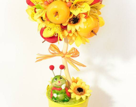 Fruit Topiary Tree Table Centerpieces Palchukartstudio