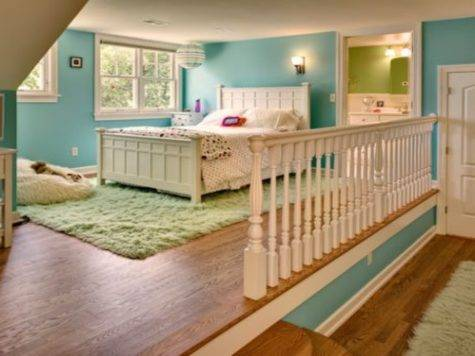 Furniture Attic Bedrooms Split Level Bedroom