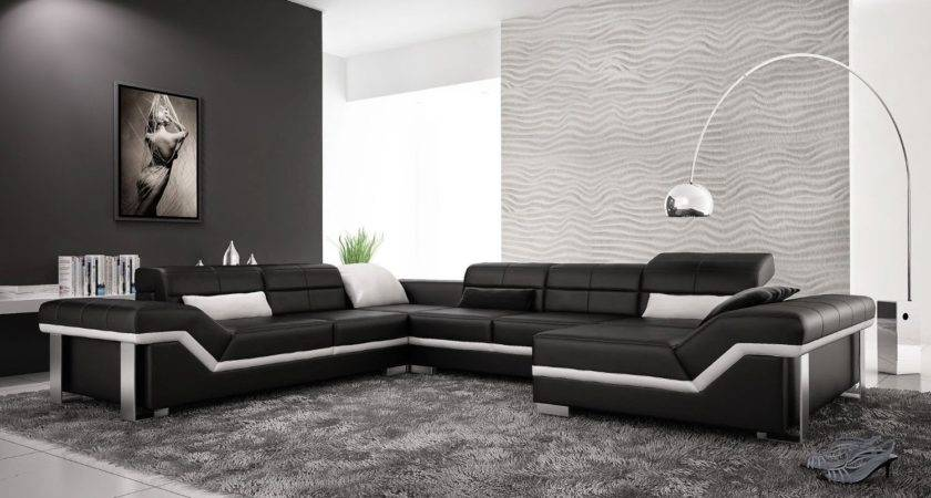 Furniture Best Leather Couch Sofa Living Room Modern