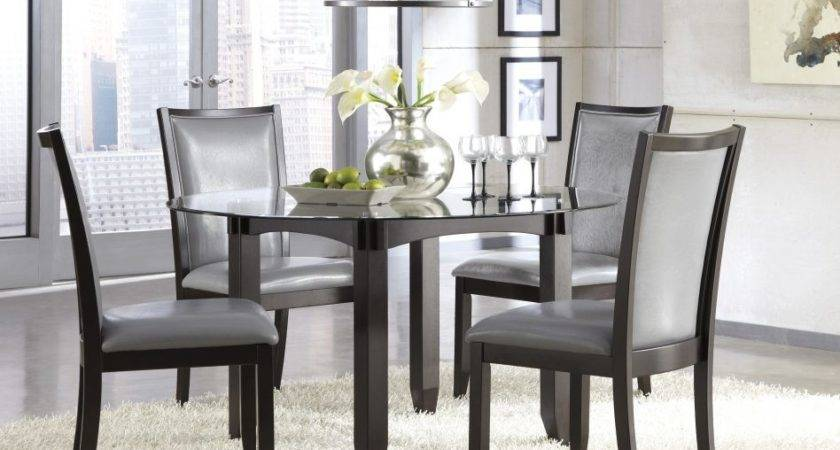 Furniture Chareful Gray Dining Room Sets Paint