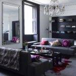 Furniture Grey Living Room Ideas Cozy Dark Gray Sofa