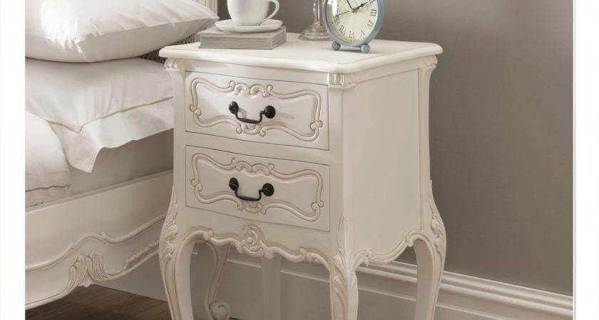 Furniture Vintage Nightstands Your Lovely Bedroom
