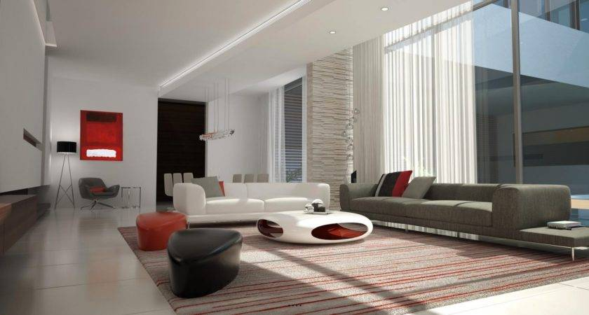 Futuristic Decor Interior Design Ideas
