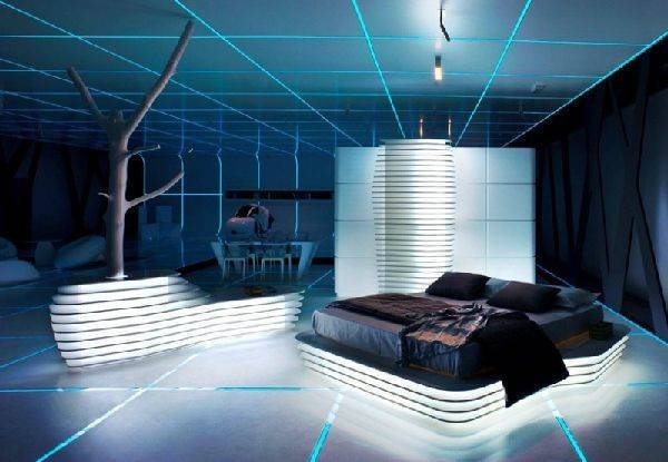 Futuristic Interior Design Furnish Burnish