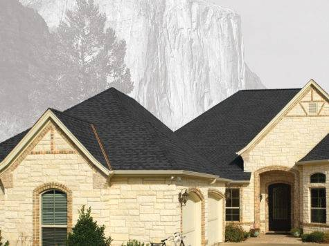 Gaf Gray Black Roofing Shingles