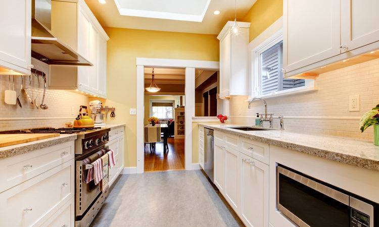 Galley Corridor Kitchens Interiorcharm