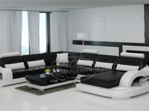 Ganasi Latest Sofa Design Living Room Set
