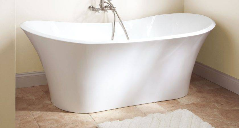 Gaston Acrylic Freestanding Tub Bathtubs Bathroom