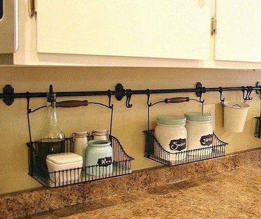Genius Diy Kitchen Storage Organization Ideas