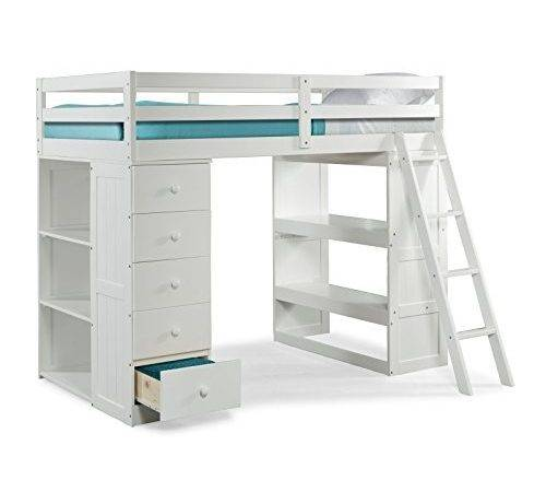 Get Canwood Skyway Loft Bed Desk Storage Tower