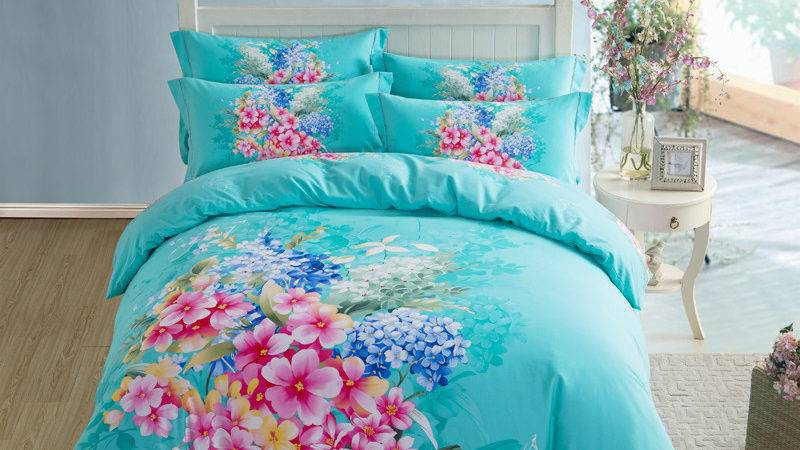 Get Cheap Turquoise Floral Bedding Aliexpress