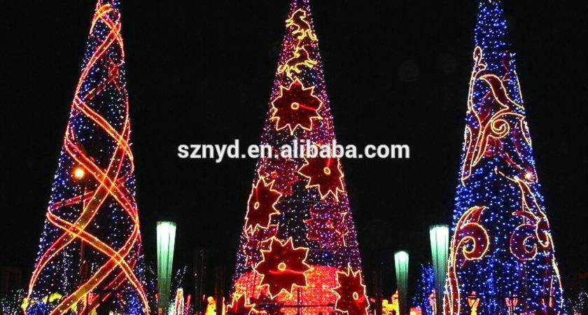 Giant Christmas Tree Outdoor Decorations