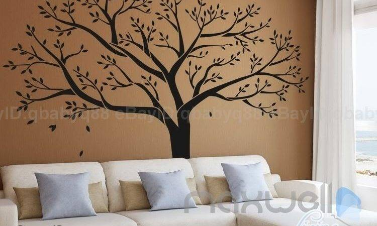 Giant Tree Wall Sticker Vinyl Art Home Decals Room