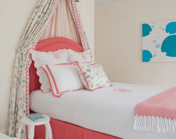 Girls Bed Canopy Kerry Hanson Design Simplified Bee