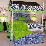 Girls Bedroom Zebra