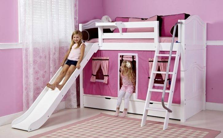Girls Bunk Beds Slide Best Slides