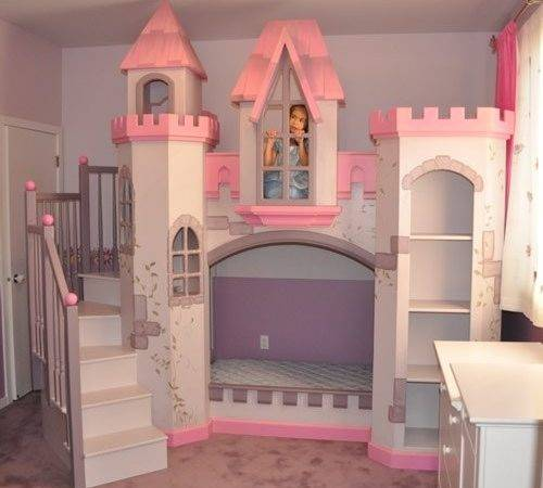 Girls Castle Beds Home Decorating Ideas