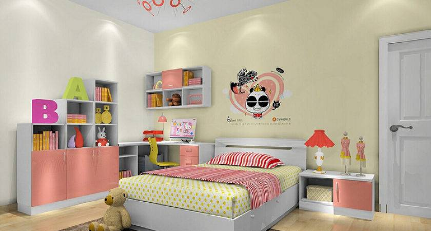 Girls Pink Bedroom Furniture Set House