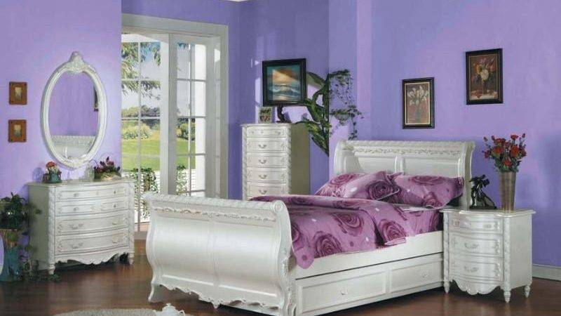 Girls White Bedroom Furniture Sets Zeopcek