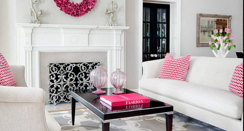 Glam Decor Living Room Just Decorate