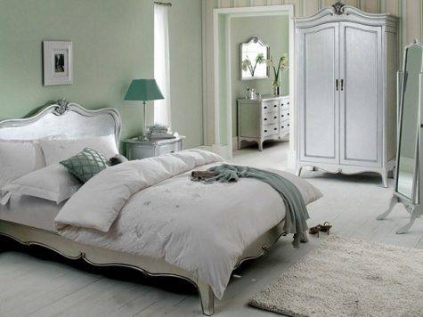 Glam Pad Glamorous White Bedrooms Interior