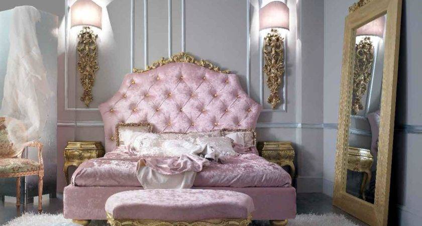 Glamorous Baroque Dream Bedroom Design Ideas