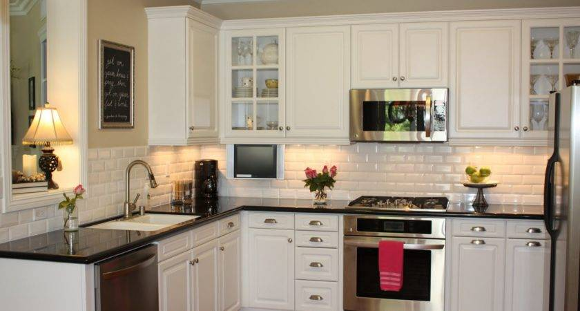Glamorous White Kitchen Cabinets Remodel Ideas Molded