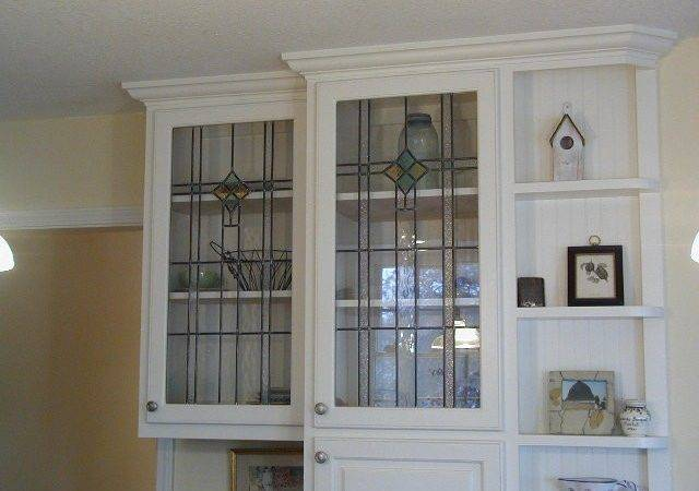 Glass Kitchen Cabinet Doors Ideas Kitchenidease