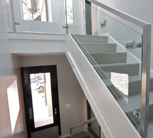 Glass Railing Home Design Ideas Remodel Decor