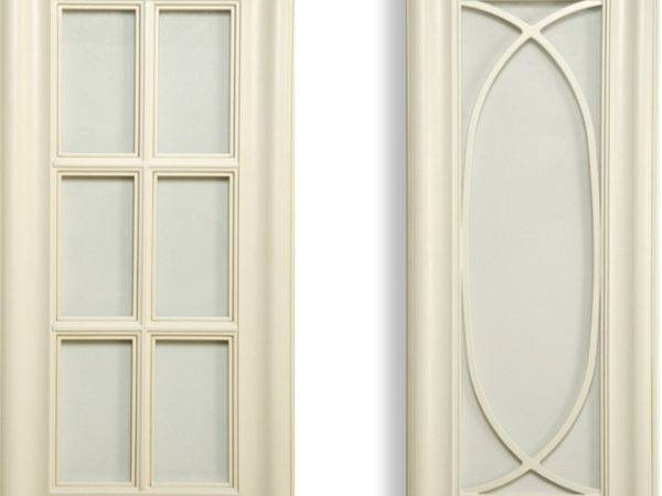 Glass Types Cabinet Doors Textured