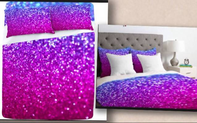 Glitter Bedding Hunt