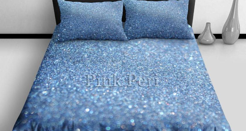 Glitter Bedding Sets Silver Grey Sparkle