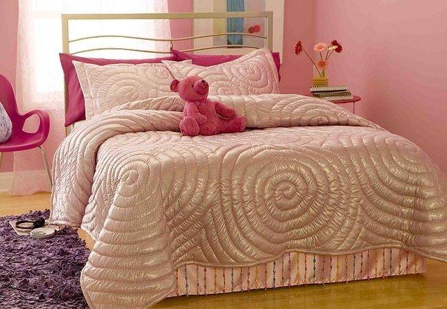 Glitter Pink Comforter Set Shipping Today