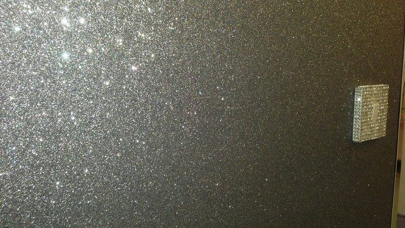 Glitter Wall Paint Silver Colors