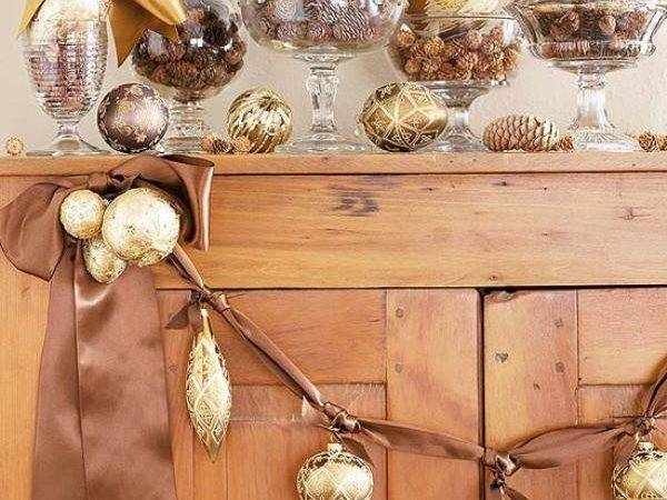 Gold Christmas Decorations Ideas Magment