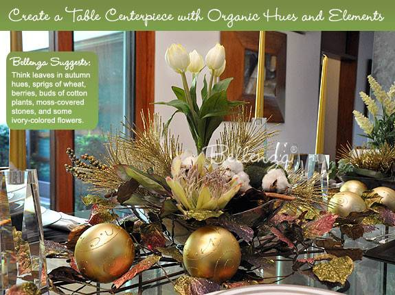 Gold Christmas Table Centerpieces Carehouse Info