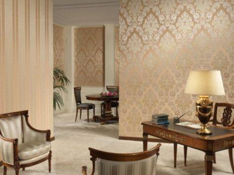 Gold Color Living Room Olpos Design