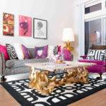 Gold Curtains Living Room Inspiration Formal