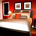 Gold Red Bedroom Ideas Small Bedrooms Makeover