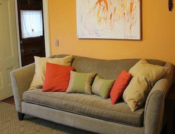 Gold Red Living Room Peenmedia
