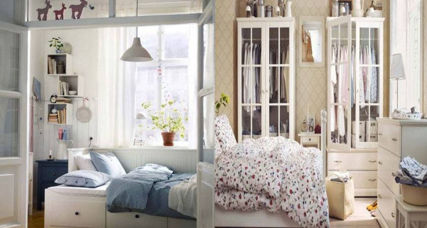 Good Bedroom Solutions Small Spaces Storage Ideas Ikea