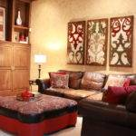 Good Red Gold Bedroom Ideas