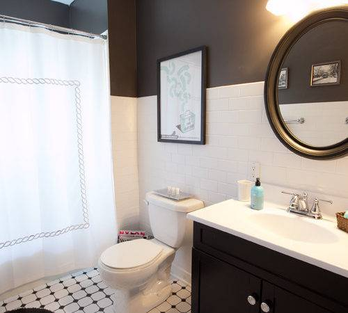 Gorgeous Black White Bathrooms Huffpost